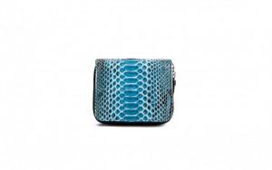 Portafoglio Giulia azzurro