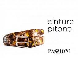 Cinture Pitone